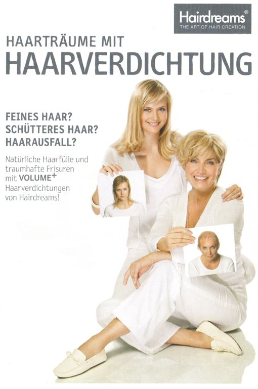 Hairdreams Haarverdichtung mit Volume plus